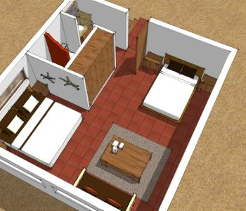 Room type C plan